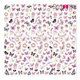 SmoothNails-Butterflies-Pink